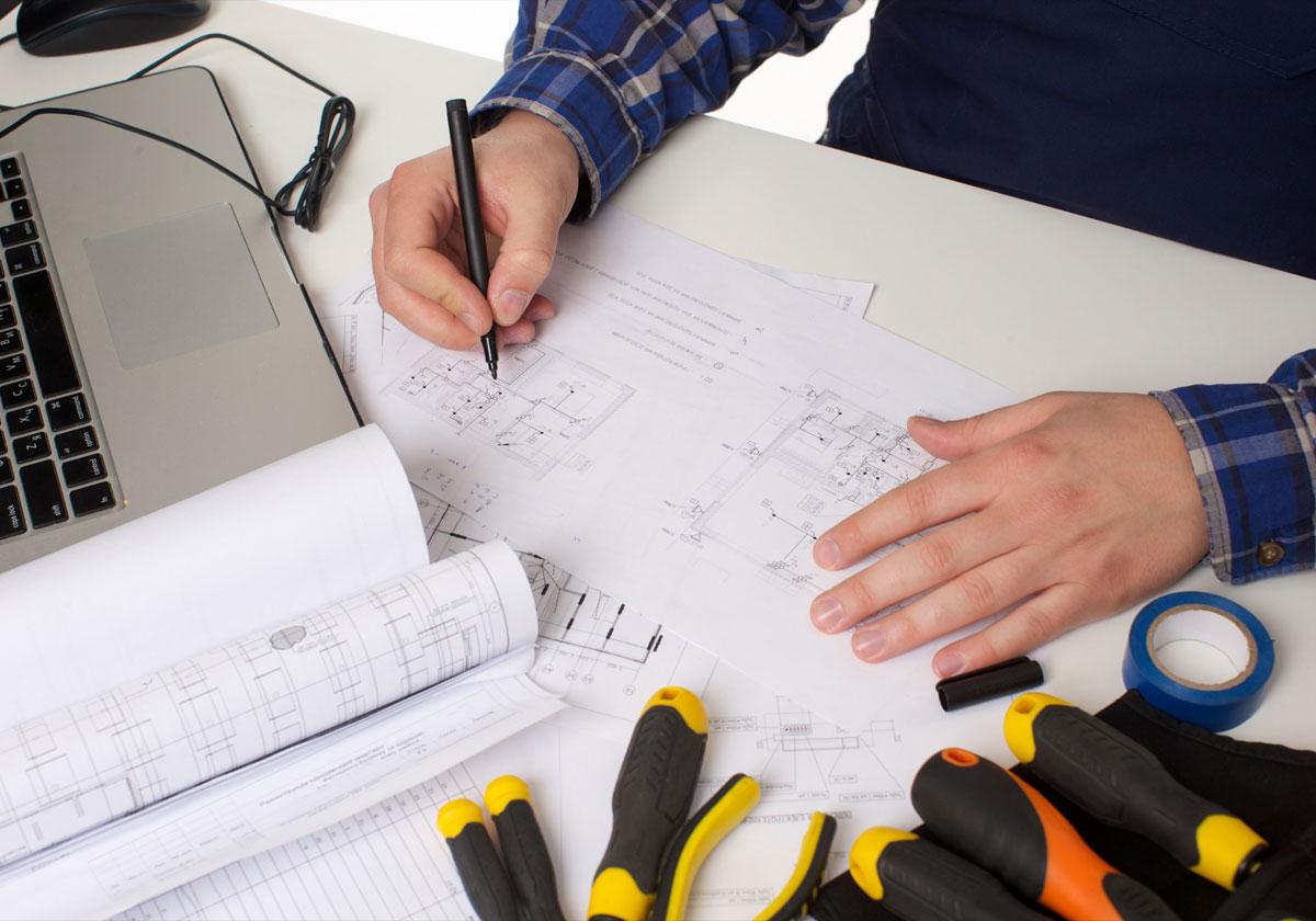 電気工事のスペシャリストによる作業で安心・安全