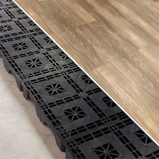 デザイン床材(ウッド系)で工事をする場合