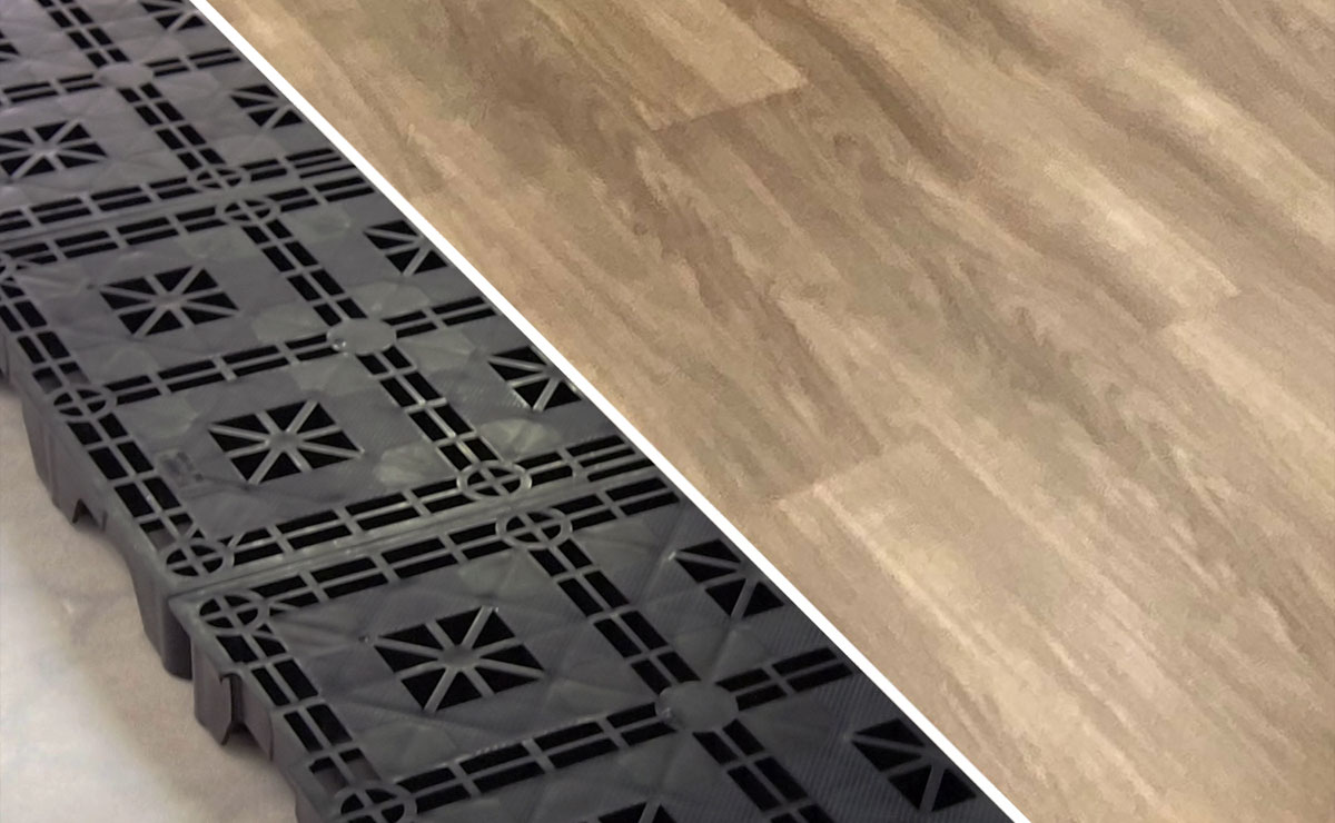 床貼替え・OAフロア